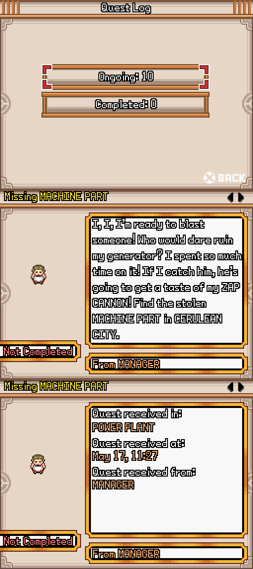 Pokémon Chronicles Demo - Version 17.0 Pokemo21