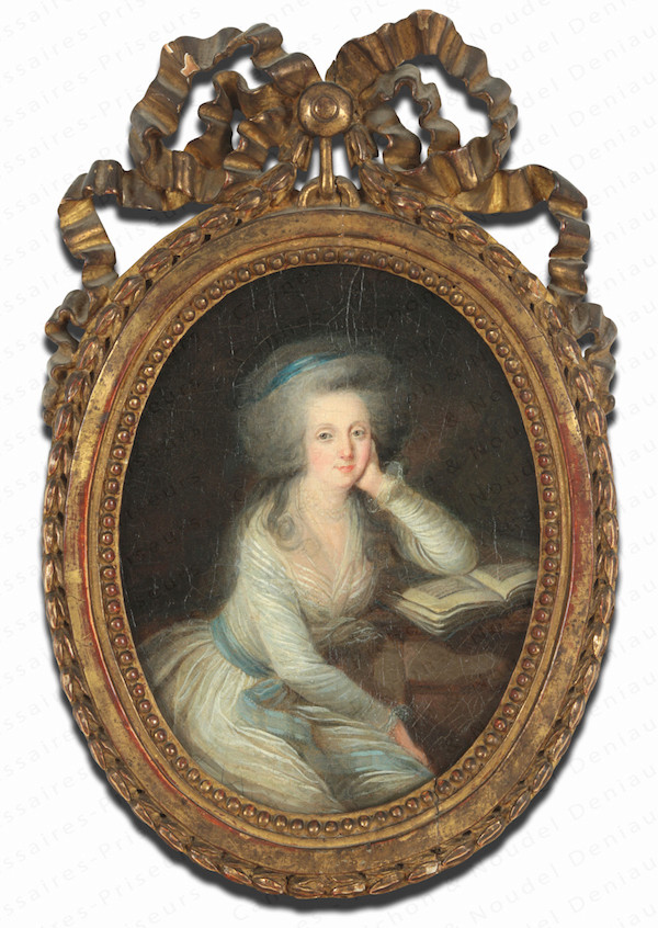 Portraits de Marie-Antoinette et de la famille royale par Charles Le Clercq ou Leclerq - Page 2 14937310