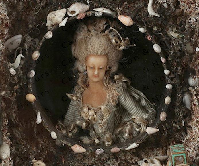 Bustes et représentations en cire de Marie-Antoinette Captu148