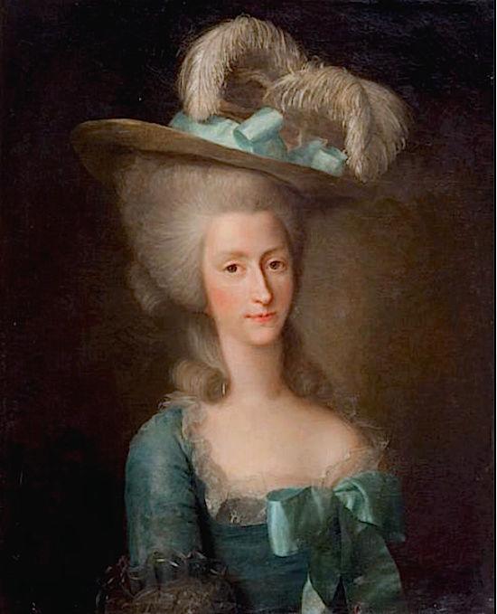 fredou - Portraits de Marie-Antoinette et de la famille royale, par Jean-Martial Frédou Comtes12