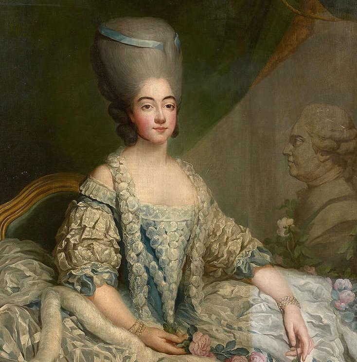 fredou - Portraits de Marie-Antoinette et de la famille royale, par Jean-Martial Frédou Comtes14
