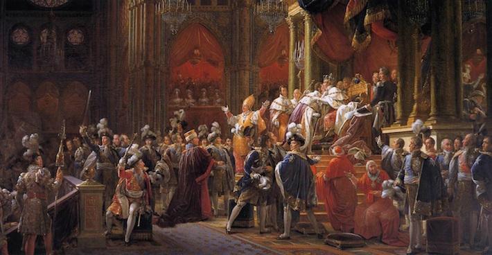 Le sacre de Charles X Corona10