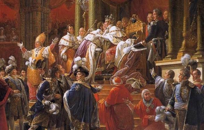 Le sacre de Charles X Corona11