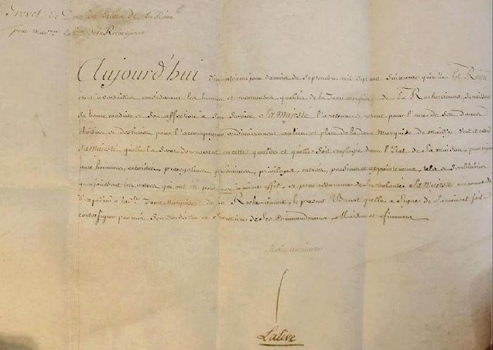 Maison et dames du Palais de la reine Marie-Antoinette - Page 7 Dames_10
