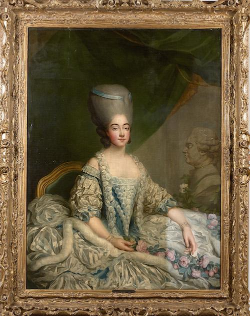 fredou - Portraits de Marie-Antoinette et de la famille royale, par Jean-Martial Frédou Jean_m10