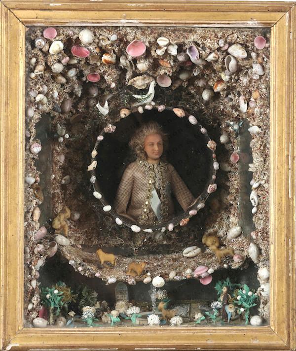 Bustes et représentations en cire de Marie-Antoinette Louis_15