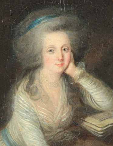 Portraits de Marie-Antoinette et de la famille royale par Charles Le Clercq ou Leclerq - Page 2 Madame13