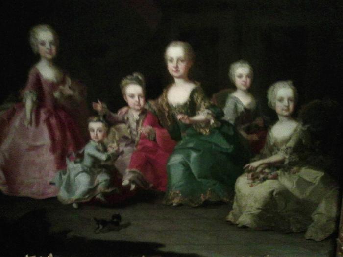 Portraits de Marie-Antoinette au clavecin, par Franz Xaver Wagenschön Marie-10