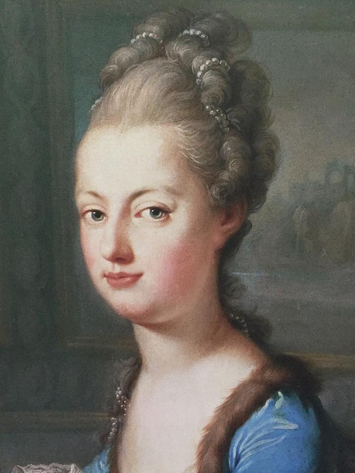 clavecin - Portraits de Marie-Antoinette au clavecin, par Franz Xaver Wagenschön Marie_57