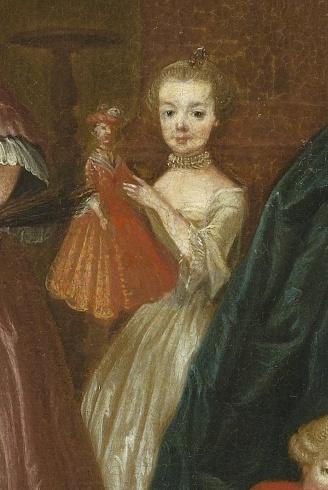 Dessins et aquarelles de Marie-Christine de Habsbourg Lorraine, soeur de Marie-Antoinette Marie_64