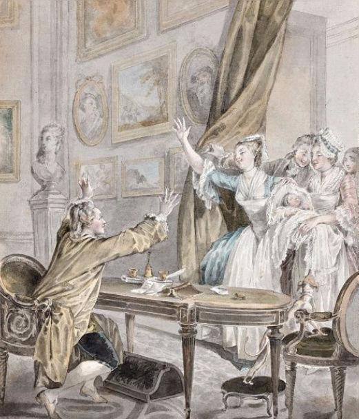 Moreau - Jean-Michel Moreau le jeune, dessinateur des Menus Plaisirs du roi - Page 2 Moreau11