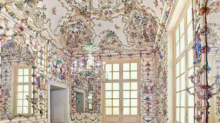 Capodimonte, un palais de la reine Marie-Caroline Salott13