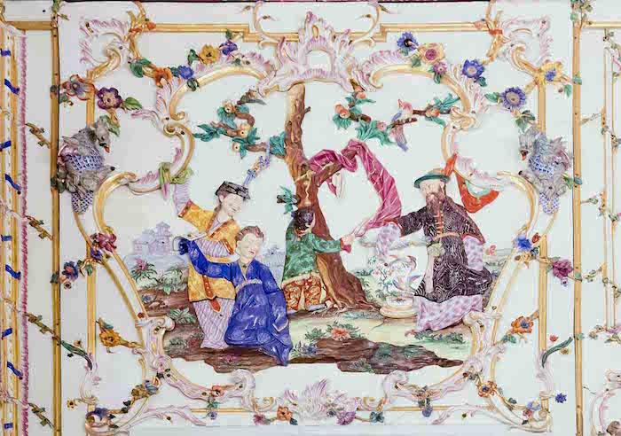 Capodimonte, un palais de la reine Marie-Caroline Salott16