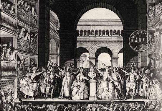 La Comédie Française dans la Révolution Theatr12