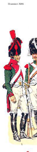 Dragon Compagnie d'élite 10ème Régiment 1807 MM 54mm 10dd6711