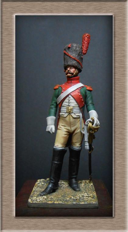 Vitrine Alain 2 mise en peinture sculpture Grenadier en surtout  1807  MM54mm - Page 3 Dscn7226