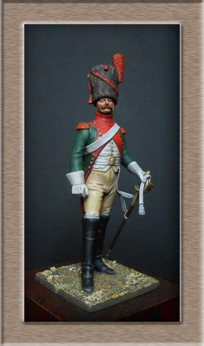 Vitrine Alain 2 Voltigeur de la ligne retour d'Espagne 1814 MM54mm - Page 3 Dscn7310