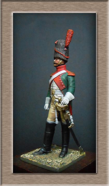 Vitrine Alain 2 Voltigeur de la ligne retour d'Espagne 1814 MM54mm - Page 3 Dscn7312