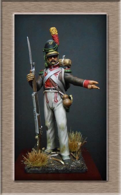 Voltigeur de la Légion Portugaise 1808-1813 MM54mm Dscn7320