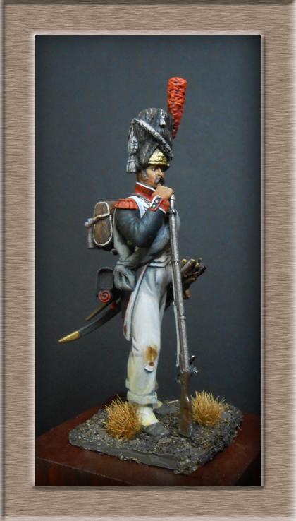 Vitrine Alain 2 mise en peinture sculpture Grenadier en surtout  1807  MM54mm - Page 3 Dscn7420