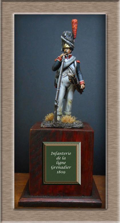 Vitrine Alain 2 mise en peinture sculpture Grenadier en surtout  1807  MM54mm - Page 3 Dscn7427