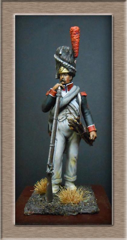 Vitrine Alain 2 Voltigeur de la ligne retour d'Espagne 1814 MM54mm - Page 3 Dscn7428