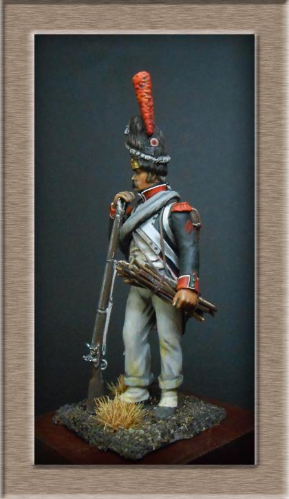 Vitrine Alain 2 Voltigeur de la ligne retour d'Espagne 1814 MM54mm - Page 3 Dscn7429