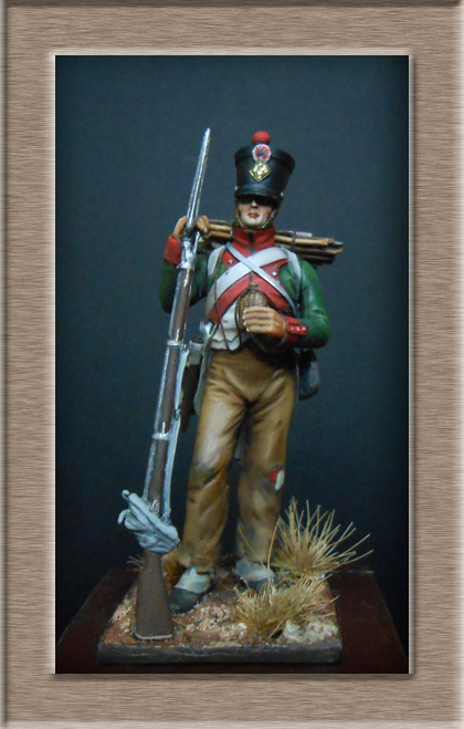 Vitrine Alain 2 Voltigeur de la ligne retour d'Espagne 1814 MM54mm - Page 3 Dscn7511
