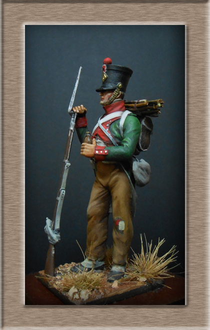Vitrine Alain 2 Voltigeur de la ligne retour d'Espagne 1814 MM54mm - Page 3 Dscn7512