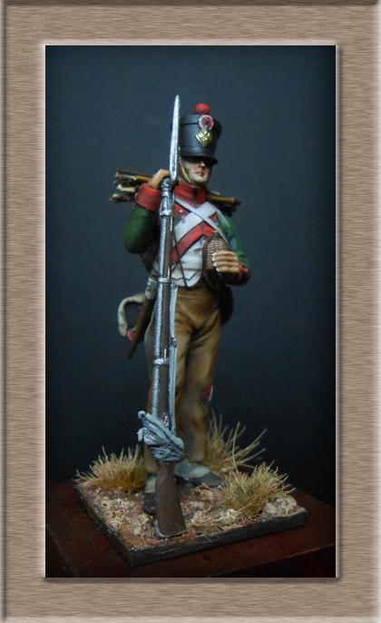 Vitrine Alain 2 Voltigeur de la ligne retour d'Espagne 1814 MM54mm - Page 3 Dscn7514