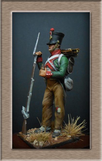 Garde de Paris Fusilier en tenue de campagne 1807 (Espagne) MM54 mm Dscn7518