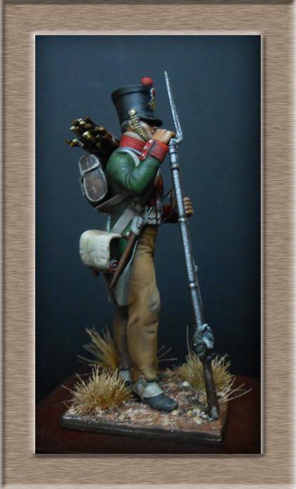 Garde de Paris Fusilier en tenue de campagne 1807 (Espagne) MM54 mm Dscn7519