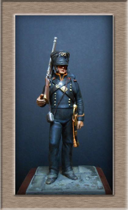 Vitrine Alain 2 Voltigeur de la ligne retour d'Espagne 1814 MM54mm - Page 3 Dscn7525
