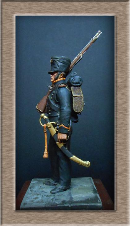 Vitrine Alain 2 Voltigeur de la ligne retour d'Espagne 1814 MM54mm - Page 3 Dscn7528