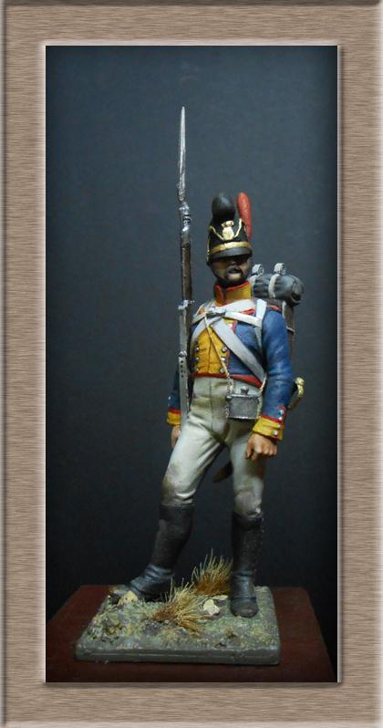 Vitrine Alain 2  Chevau-léger Polonais de la Garde 1810 MM 54 mm ) - Page 2 Dscn7611