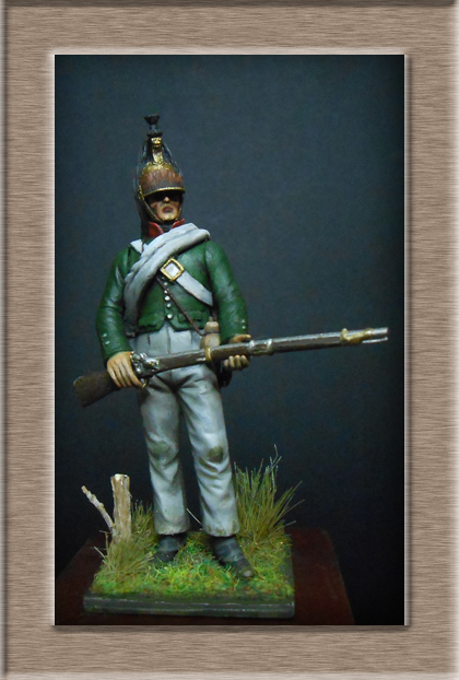 Vitrine Alain 2  Chevau-léger Polonais de la Garde 1810 MM 54 mm ) - Page 2 Dscn7617