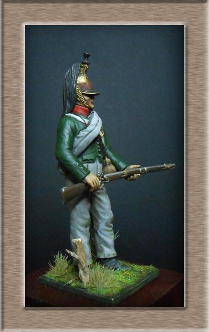 Vitrine Alain 2  Chevau-léger Polonais de la Garde 1810 MM 54 mm ) - Page 2 Dscn7618