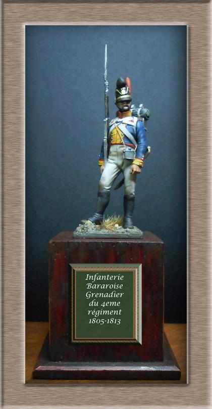 Vitrine Alain 2 mise en peinture sculpture Grenadier en surtout  1807  MM54mm - Page 3 Dscn7621