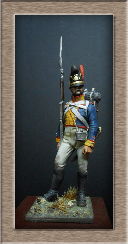 Vitrine Alain 2 Voltigeur de la ligne retour d'Espagne 1814 MM54mm - Page 3 Dscn7622