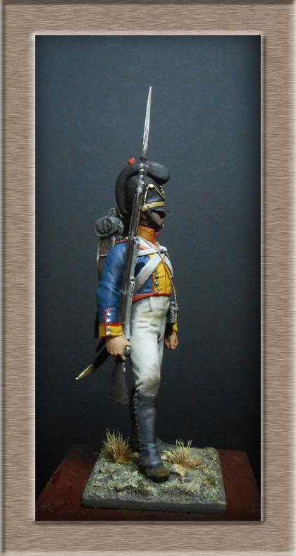 Vitrine Alain 2 Voltigeur de la ligne retour d'Espagne 1814 MM54mm - Page 3 Dscn7623