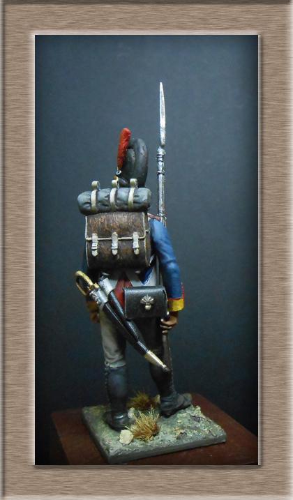 Vitrine Alain 2 mise en peinture sculpture Grenadier en surtout  1807  MM54mm - Page 3 Dscn7626
