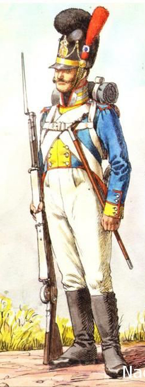 Vitrine Alain 2  Chevau-léger Polonais de la Garde 1810 MM 54 mm ) - Page 2 F8de3610