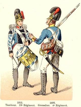 Grenadier Bavarois 1805-1813 MM 54mm Grenad10