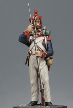 Voltigeur de la Légion Portugaise 1808-1813 MM54mm Grrb112