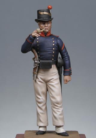 Vitrine Alain 2  Chevau-léger Polonais de la Garde 1810 MM 54 mm ) - Page 2 Mehb110
