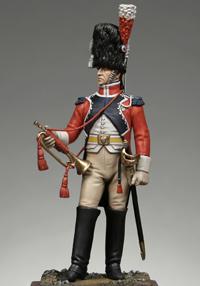 Vitrine Alain 2 mise en peinture sculpture Grenadier en surtout  1807  MM54mm - Page 3 Trcar110