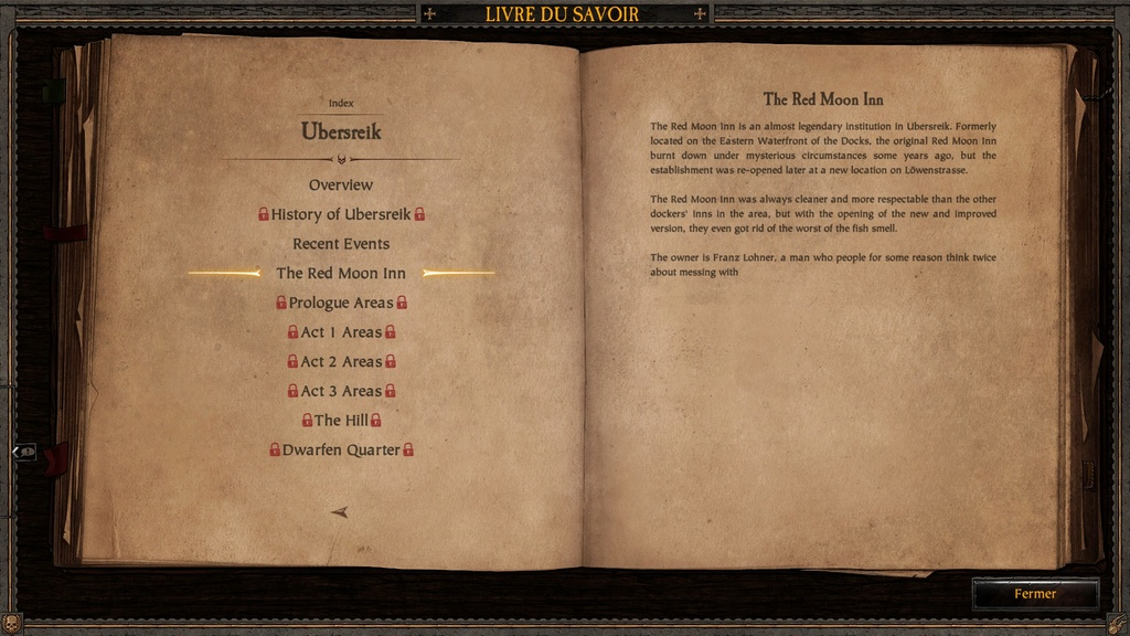 Ubersreik - Informations sorties du jeu Vermintide 20170316