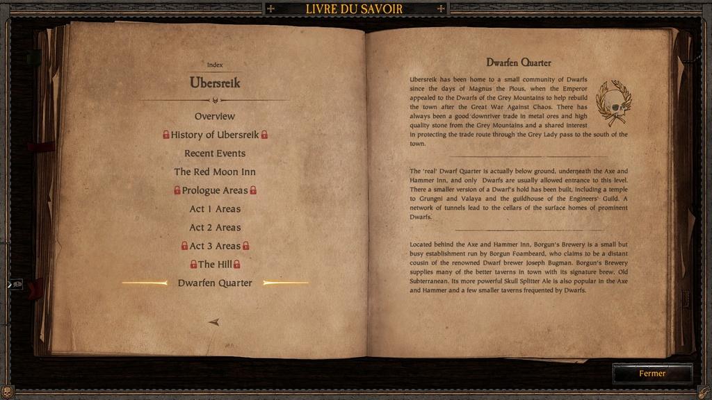 Ubersreik - Informations sorties du jeu Vermintide 20170321