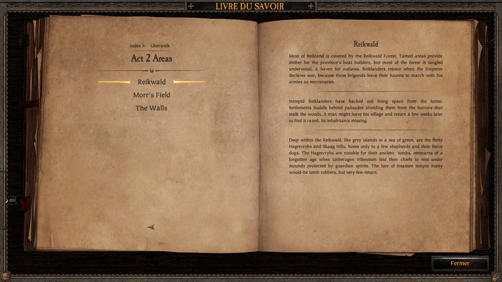 Ubersreik - Informations sorties du jeu Vermintide 20170411