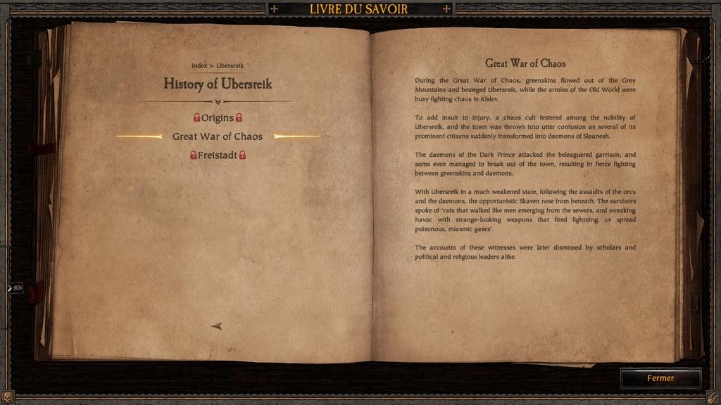 Ubersreik - Informations sorties du jeu Vermintide 20170412